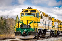 Powerful Diesel Locomotive