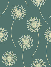Seamless Floral Pattern -  Vec...
