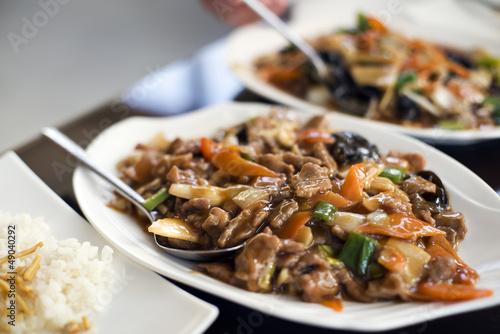 Photo  Chinese beef