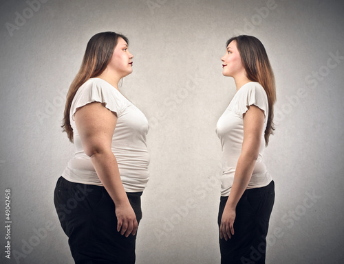 Weight loss before and after diet