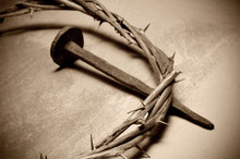 Jesus Christ Crown Of Thorns A...