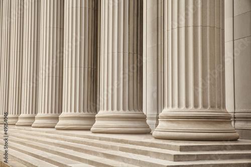 Fotografie, Obraz  Greek Columns