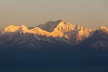 Mount Kanchenjunga From Tiger Hill. Darjeeling.