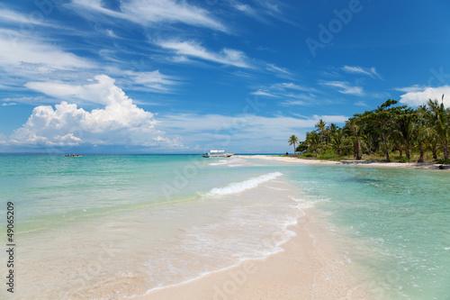 Foto op Canvas Tropical strand Dream destination