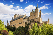 The Famous Alcazar Of Segovia,...