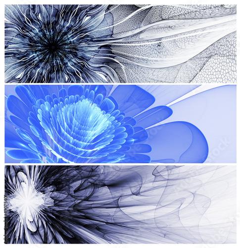 trzy-abstrakcyjne-banery-kwiatowe