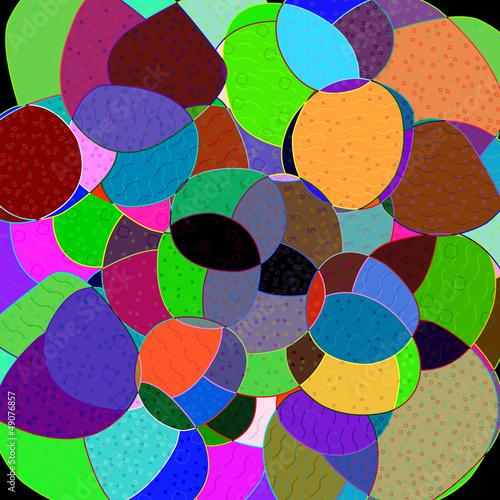 Obrazy wieloczęściowe abstrakcyjne tło, kamyczki