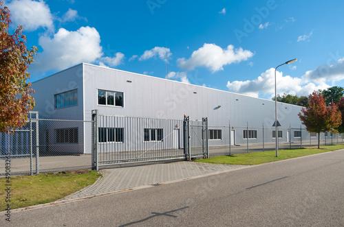 Foto op Canvas Industrial geb. industrial building