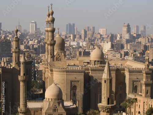 Tuinposter Egypte Mosque Al Rifai in Cairo