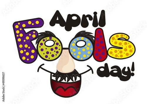 Fotografie, Obraz  april fools day