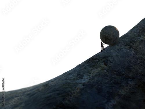 Obraz na plátně Sisyphus