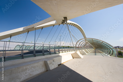 Third millenium bridge, Zaragoza, Aragon, Spain