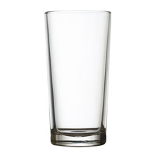 Tall Empty Glass Isolated On White Clipping Path Included