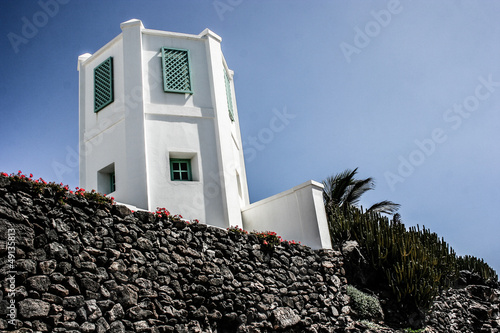 Traditional house in Puerto Del Carmen,Lanzarote,Canary islands