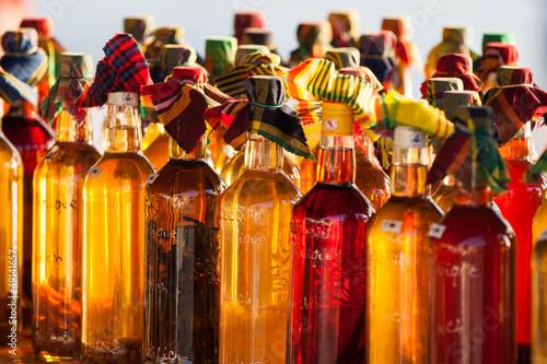 Foto op Plexiglas Caraïben Rumflaschen in der Karibik