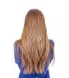 canvas print picture - Teenager mit langen Haaren