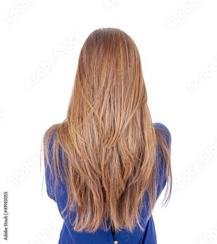 Fotografia, Obraz  Teenager mit langen Haaren