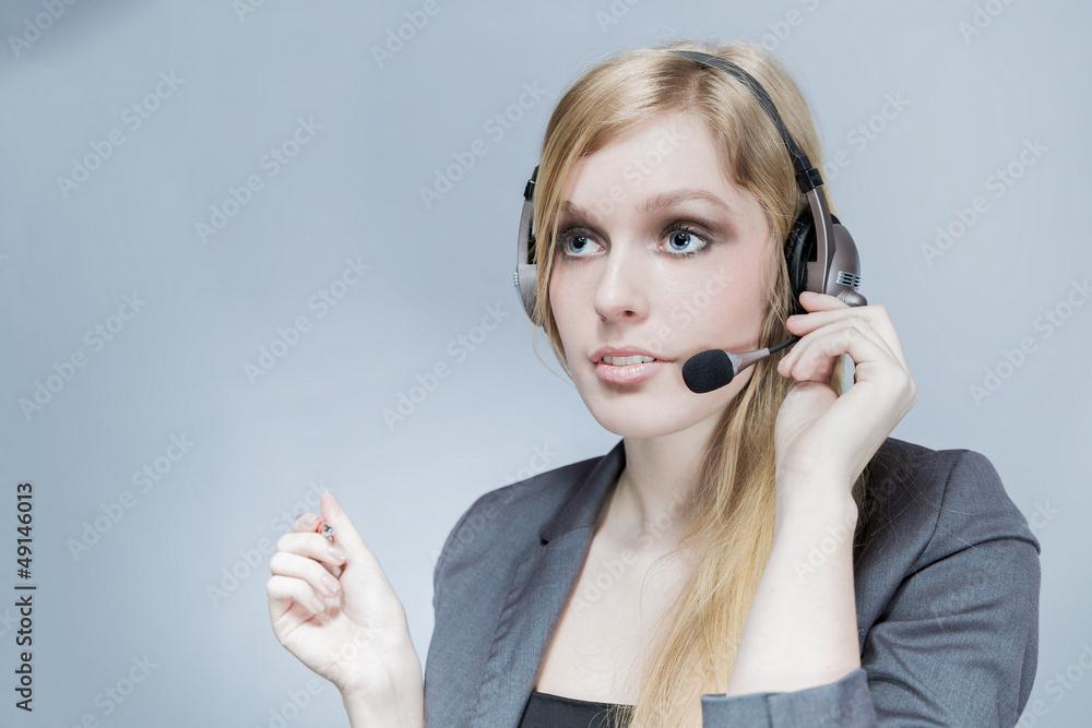 Fototapeta kobieta konsultant