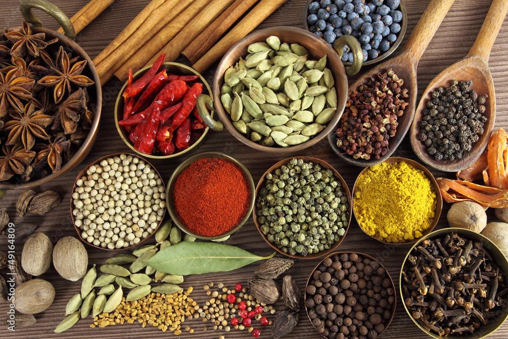 Obraz Spices fototapeta, plakat