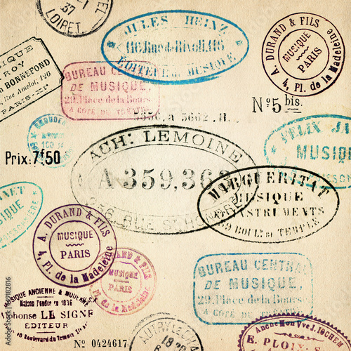 vintage stamps background buy this stock illustration and explore
