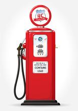 Gasoline Pump Retro