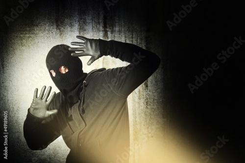 Obraz na plátně Chycený zloděj