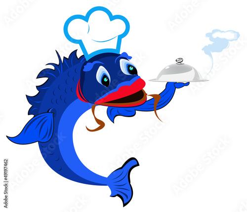 Aluminium Prints Pirates Best fish food for gourmet