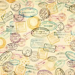 Fototapeta Vintage Vintage stamps background