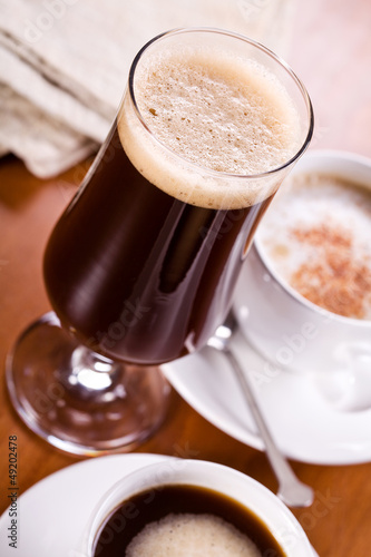 Foto op Canvas Chocolade Coffee Frappe