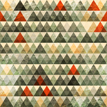 Grunge Triangle Seamless Pattern