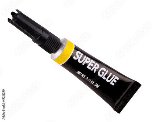 Obraz Isolated tube of super glue - fototapety do salonu