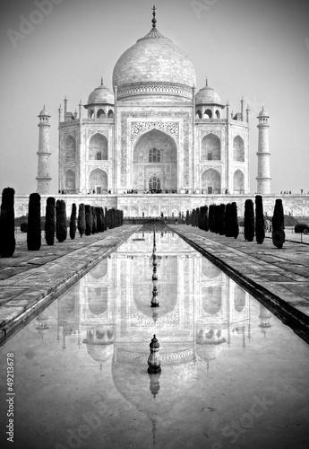 Fototapeta na wymiar Taj Mahal, Agra, Uttar Pradesh, India.