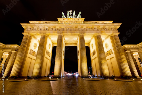 Brandenburger Tor in der Nacht - Berlin