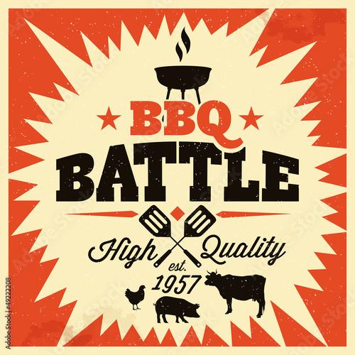 Obrazy do kuchni   bbq-grill-party