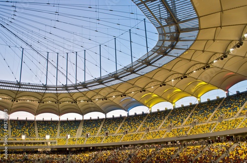 La pose en embrasure Stade de football : Bucharest National Arena – Official Opening 6 August 2011