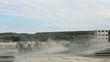 Trucks on the range