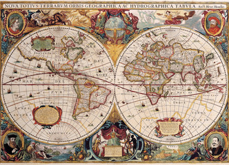 Fototapeta.World map