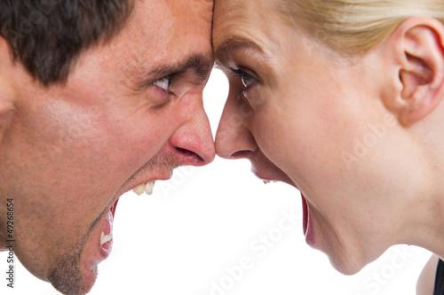 Fotografía  Streit zwischen einem Paar