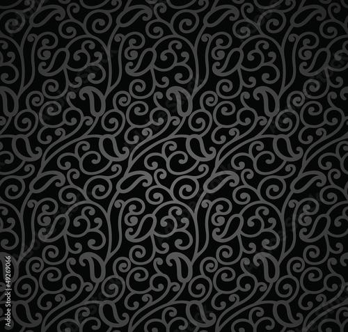 Seamless Swirly-Paisley wallpaper