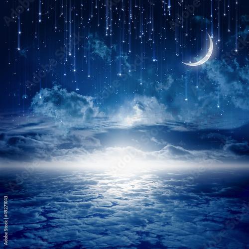 Fotografia  Piękna noc