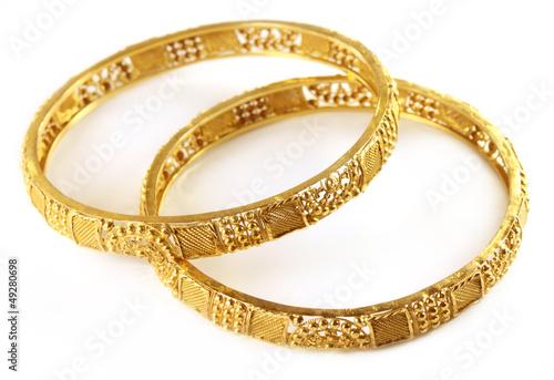 Wedding gold bracelets for ...