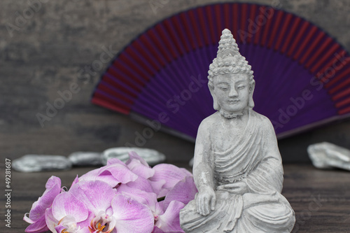 Akustikstoff - Buddhafigur
