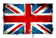 Grungy UK Flag