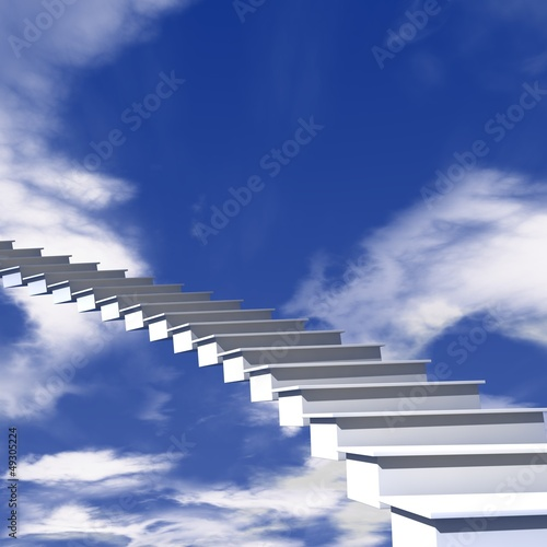Photo  Treppe in den Himmel