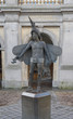 Statue of Papageno in Bruges, Belgium