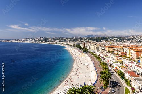 Motiv-Rollo Basic - Promenade des Anglais (von andrzej2012)
