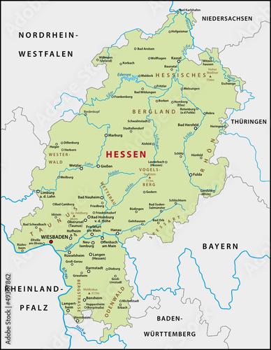 Hessen Karte Buy This Stock Vector And Explore Similar Vectors