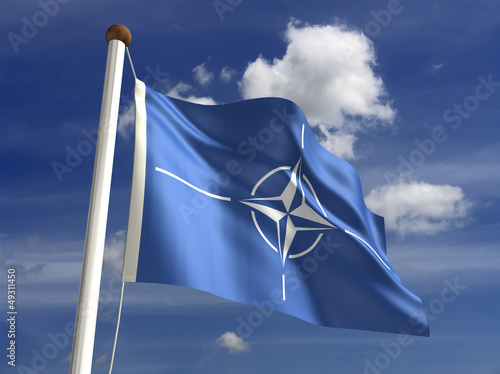 Nato Flag Canvas Print