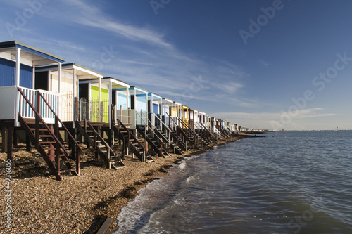 Photo  Thorpe Bay Sea Front, near Southend- on-Sea, Essex, England