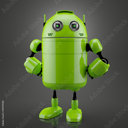 Standing android Wallpaper Mural